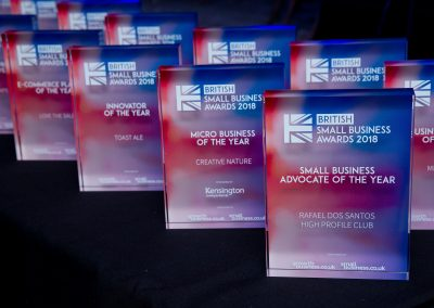 Small Business Awards Winners 2018